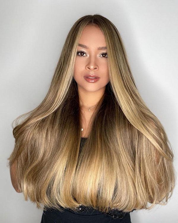 Hair Color Ideas For Long Hair