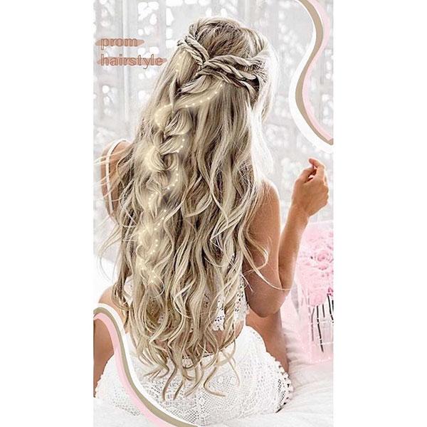 Bridal Hair Examples For Long Hair