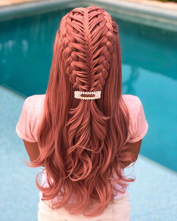 Women With Long Braided Hair