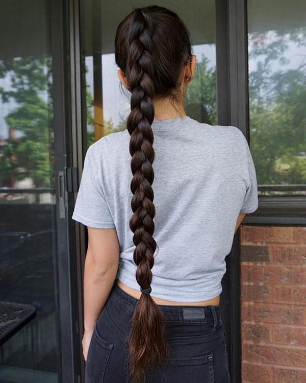 Long Ponytail Hair