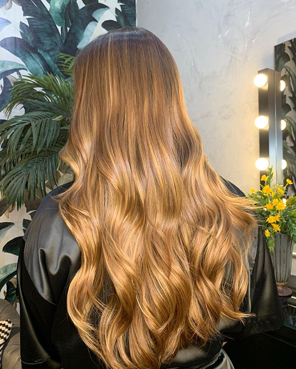 Long Vibrant Hair