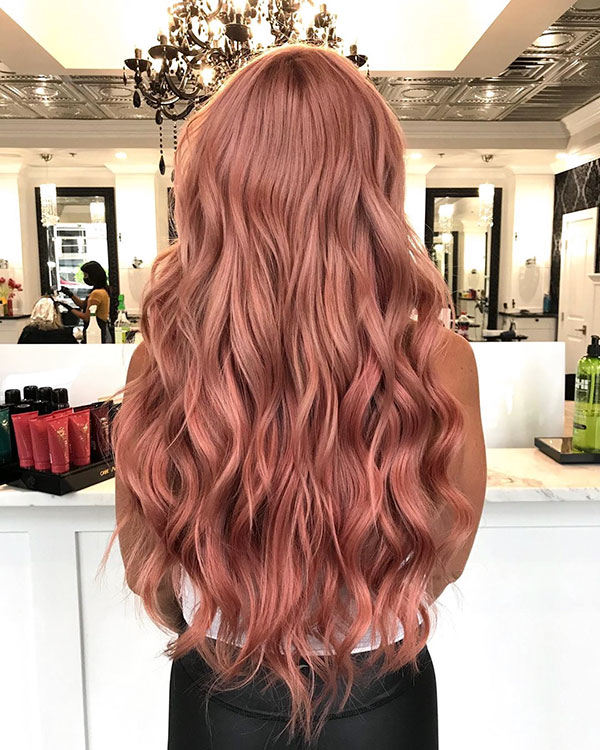 Long Wavy Hairstyles 2020