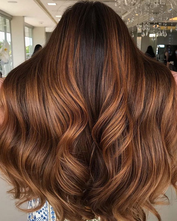 Long Balayage Hairstyles