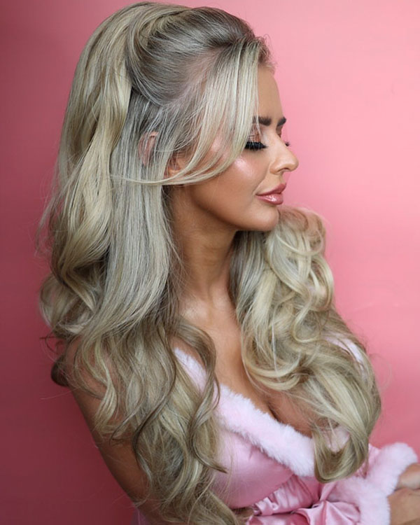 Long Hair And Ponytail Style