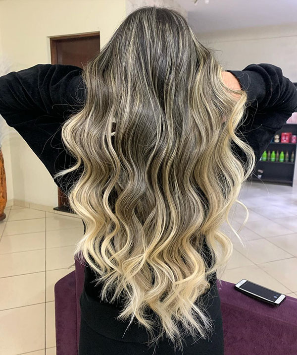 Hair Highlights For Long Hair