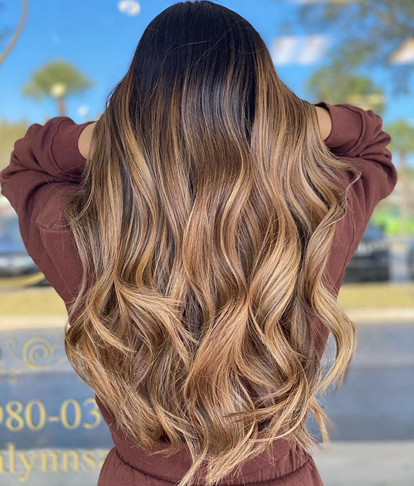 Pics Of Balayage Hairstyles For Long Hair