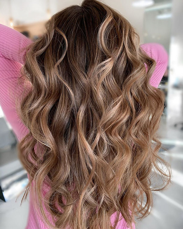 Super Long Wavy Hair