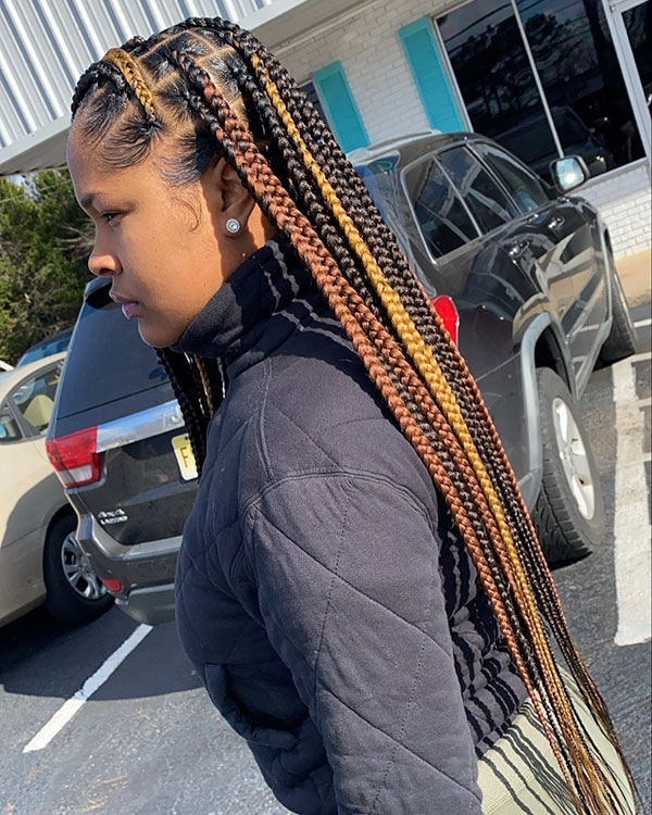 Best Braid Styles For Black Women With Long Hair