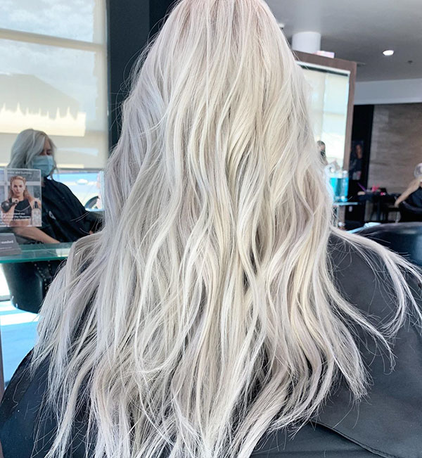 Bleached Blonde Hairstyles 2021