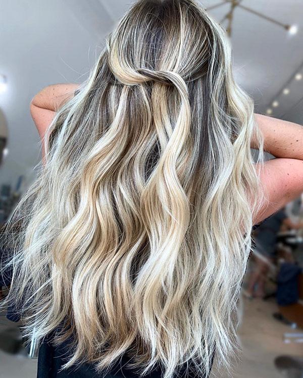 Long Hair Highlights