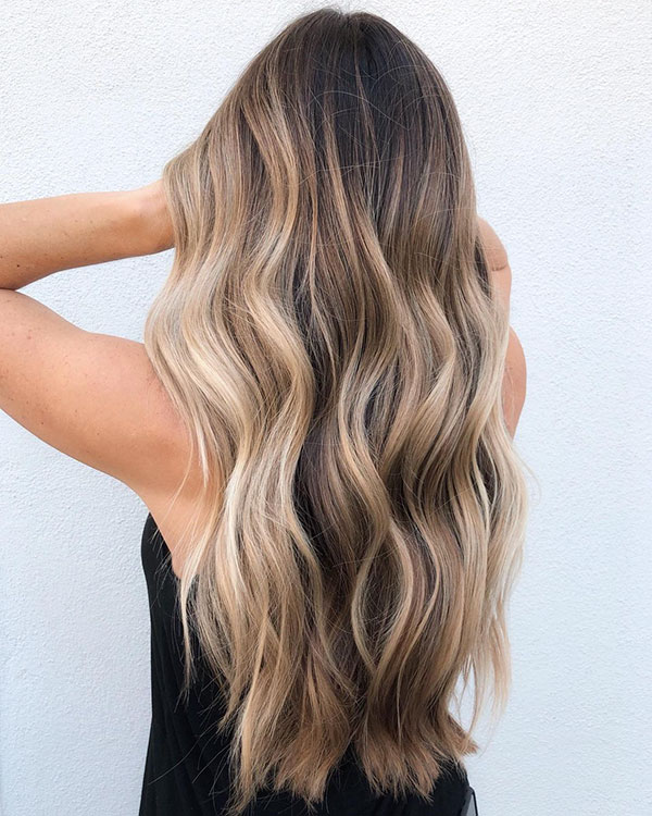 Balayage Long Haircuts