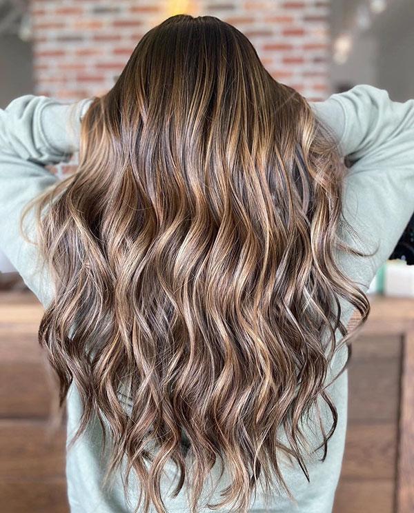 Long Hair Highlights For Women