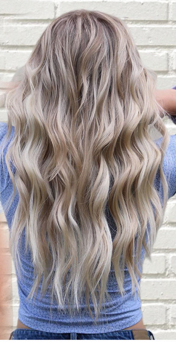 Textured Hairstyles For Long Hair