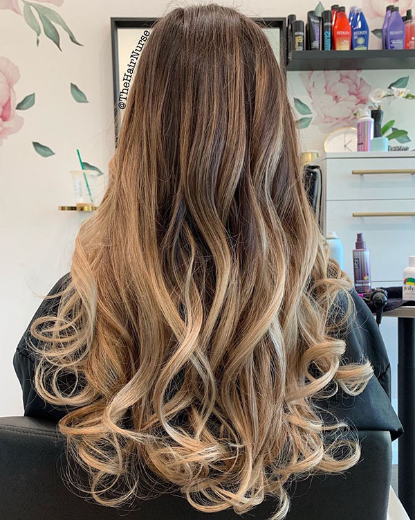 Balayage Long Hair Images