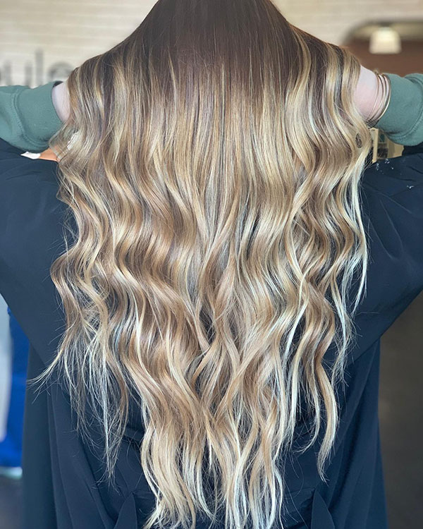 Long Textured Hair