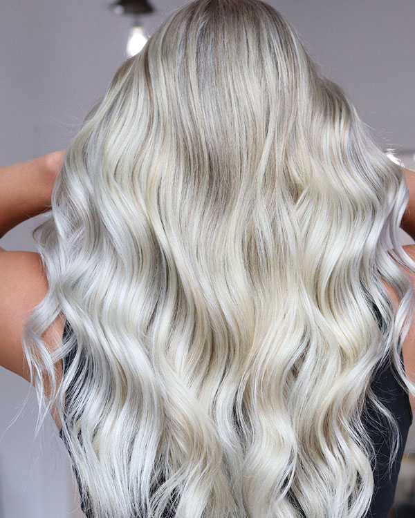 Bleached Blonde Hair For Girls