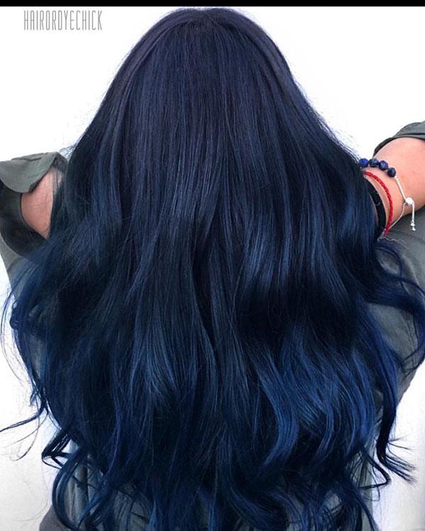 Long Blue Hair Pics