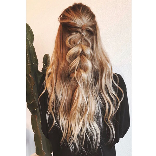 Long Textured Hair Ideas