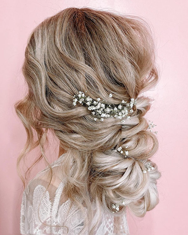 Long Hairstyles For Wedding Party