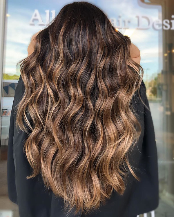 Long Hairstyles With Highlights