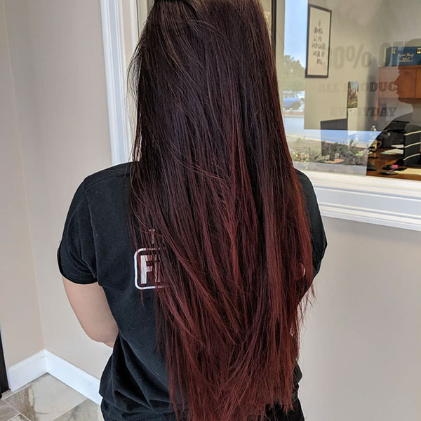 Long Haircut Female